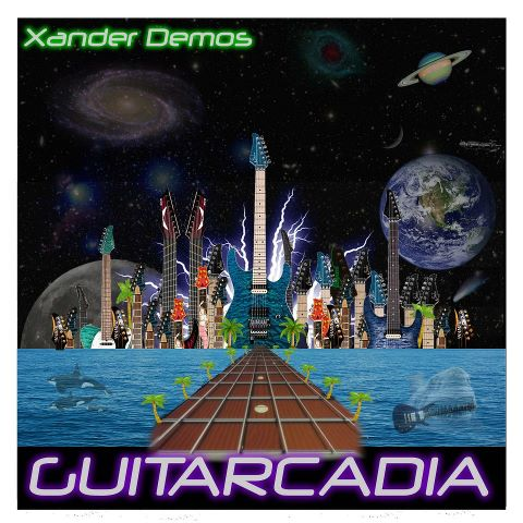guitarcadia album cover