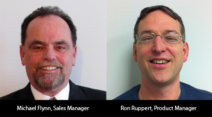 Left to Right: Michael Flynn and Ron Ruppert