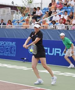 Martina Hingis (credit: Fred Levine)