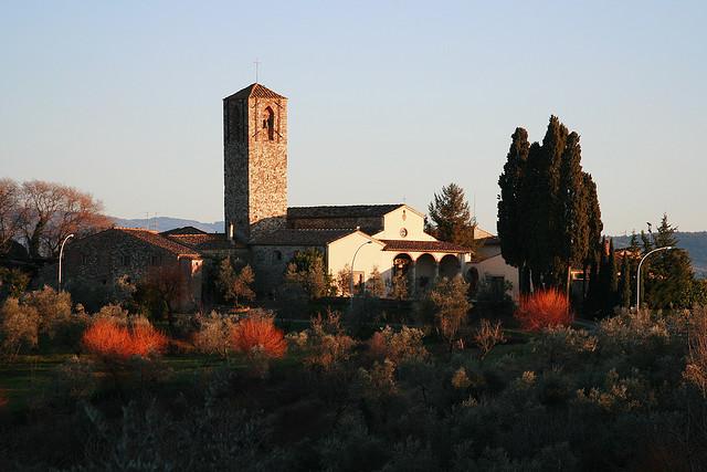 The Parish Church of Santa Cecilia a Decimo
