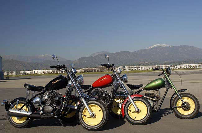 CSC Motorcycles & Classic Mustang