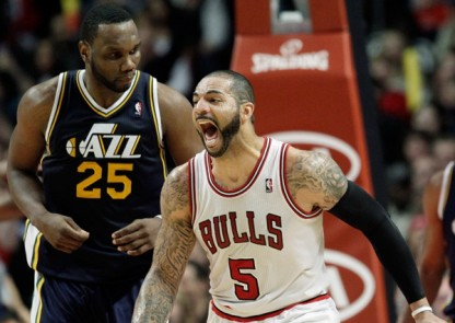 Al Jefferson and Carlos Boozer