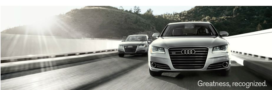 Audi A8 Is At Audi Naples. The Only Luxury Class.