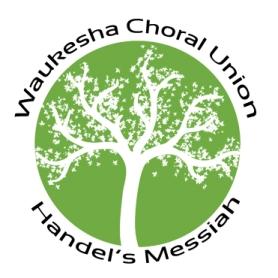 Waukesha Choral Union presents Handel's Messiah