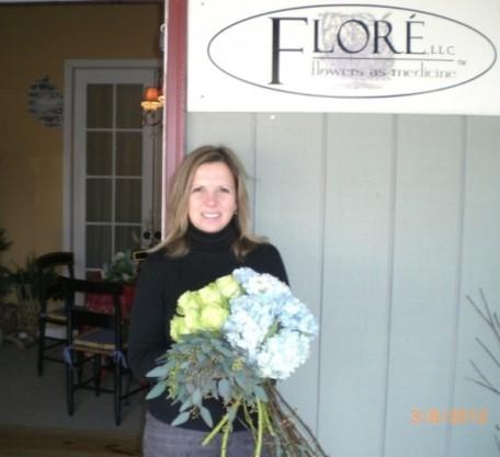 Lori Friedlander, owner Flore Fine Flowers in CT