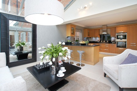 The Show Home Interior At Henderson Place