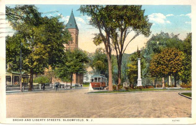 Broad St Bloomfield NJ