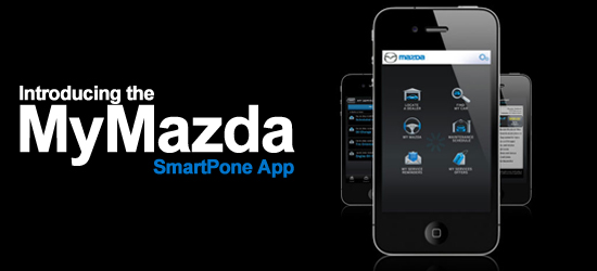 MyMazda app available in Nashville, TN