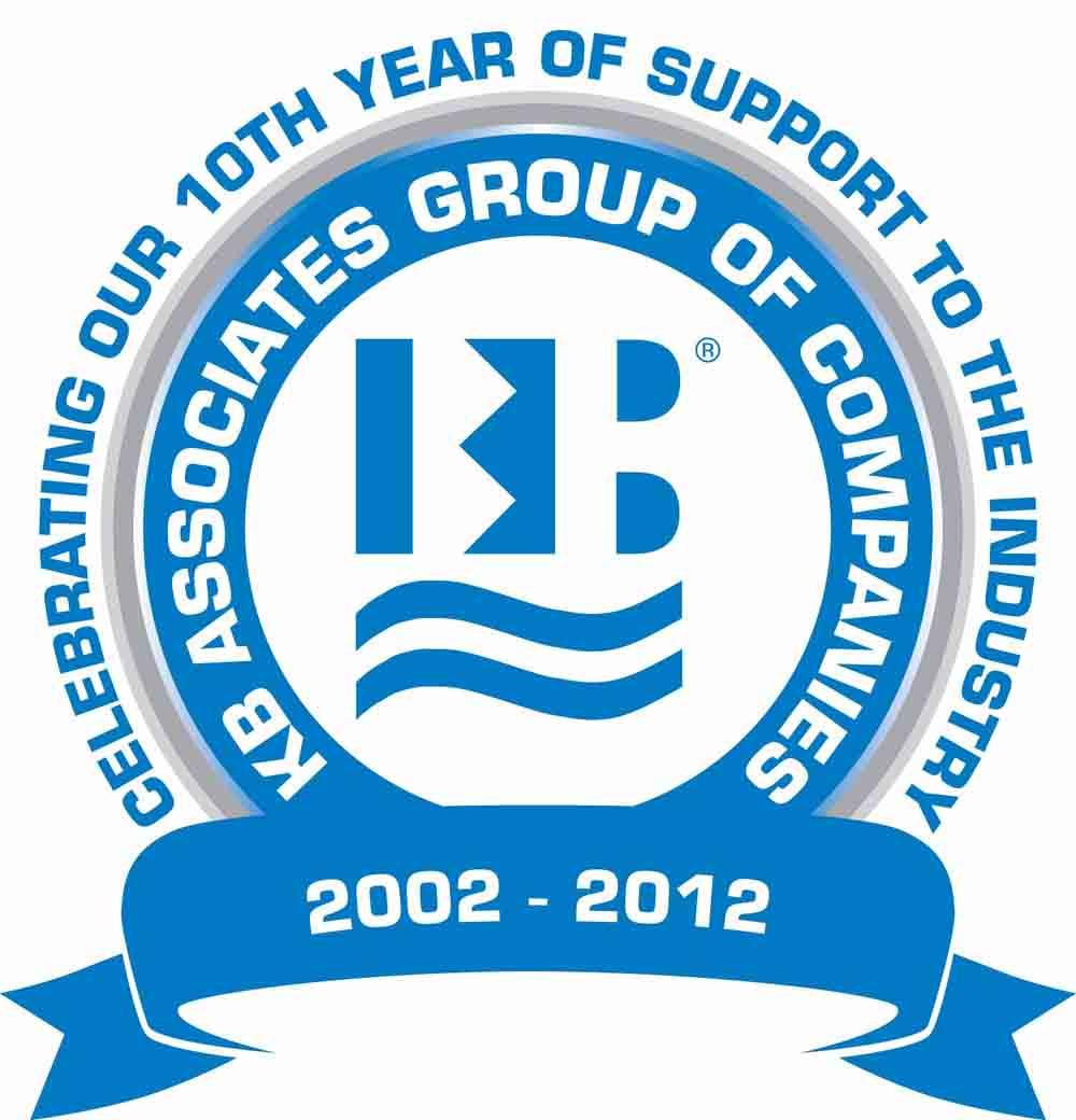 KBA Group of Companies -10th Year Anniversary logo