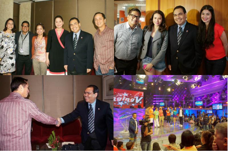 RP ConGen to US Northeast Mario De Leon at ABS-CBN