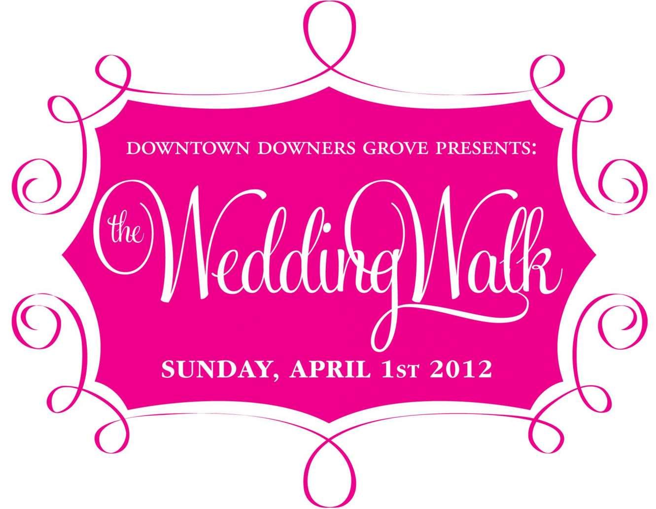 Downtown Downers Grove Wedding Walk, April 1, 2012