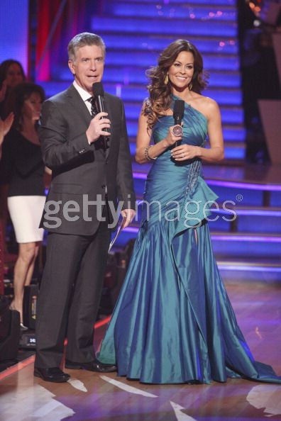 Brooke Burke in Jean Fares Couture