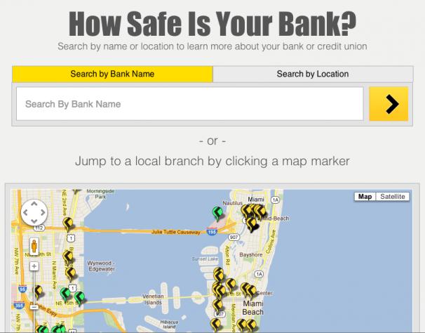 banking website