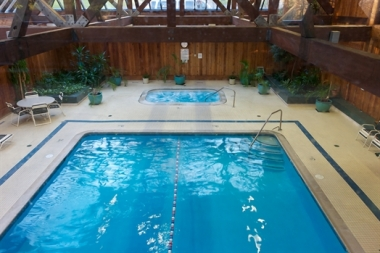 Heritage Hotel's Indoor Pool and Jacuzzi