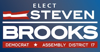 Steven Brooks For Assembly District 17