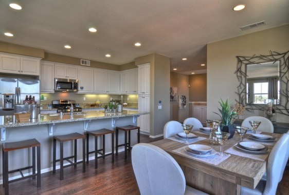 Residence 7 Kitchen at The Ridge in Mission Viejo
