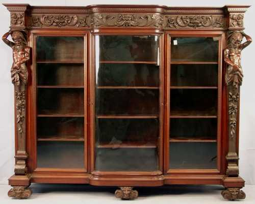 Magnificent R J Horner bookcase