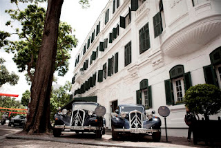 Old Building Sofitel Metropole Legend Hanoi Hotel
