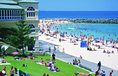 Cottesloe to perth