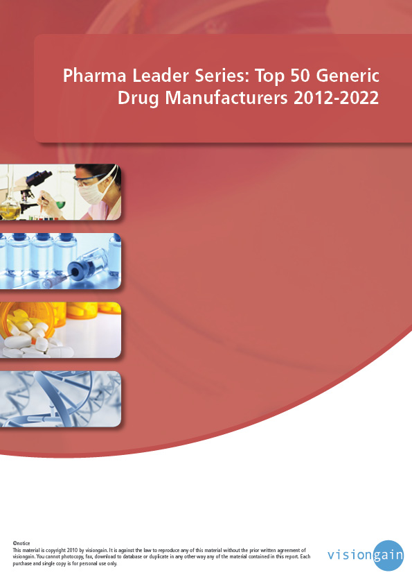 Top 50 Generic Drug Manufacturers 2012-2022