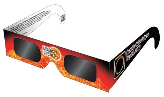 Protect Your Eyes With Solar Eclipse Viewing Glasses and Filters for May 20 Annular Solar ...
