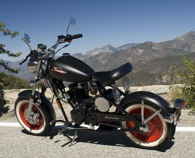 The Greaser, by California Scooter Company