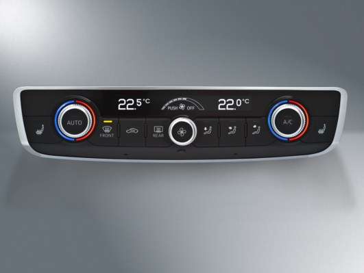 Audi A3 Climate Control System by  Preh