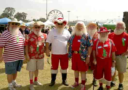 Conejo Valley Days Santas