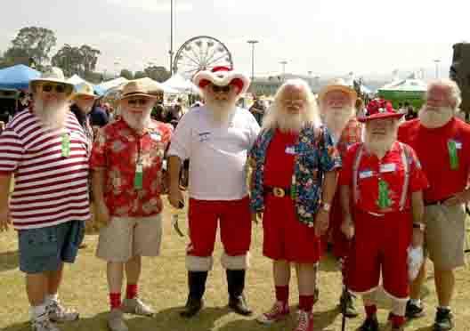 Conejo Valley Days Santas