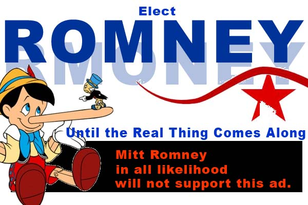 Romney. Until the Real Thing Comes Along