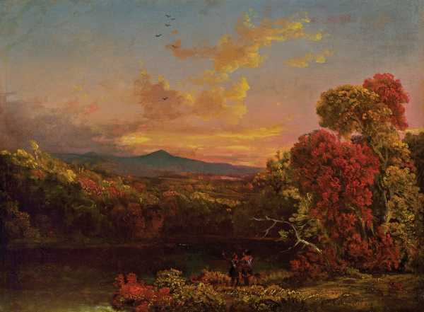 Luminist work by Thomas Cole