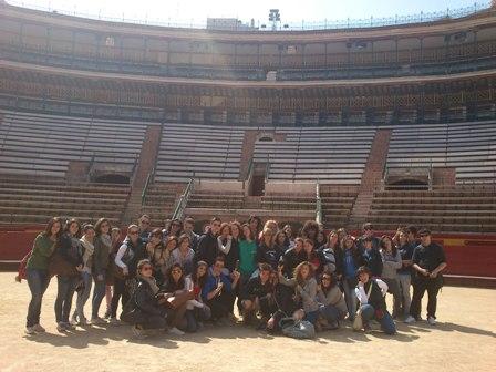 School trip in Valencia