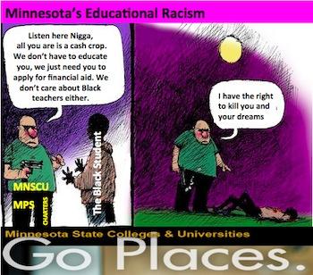 Minneapolis Blacks do bad in Education - Racism?