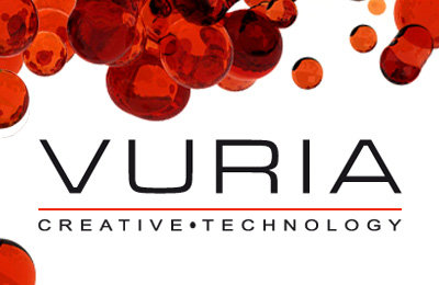 Vuria Website Design