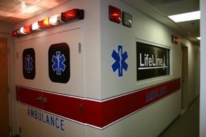 LifeLife in-house ambulance