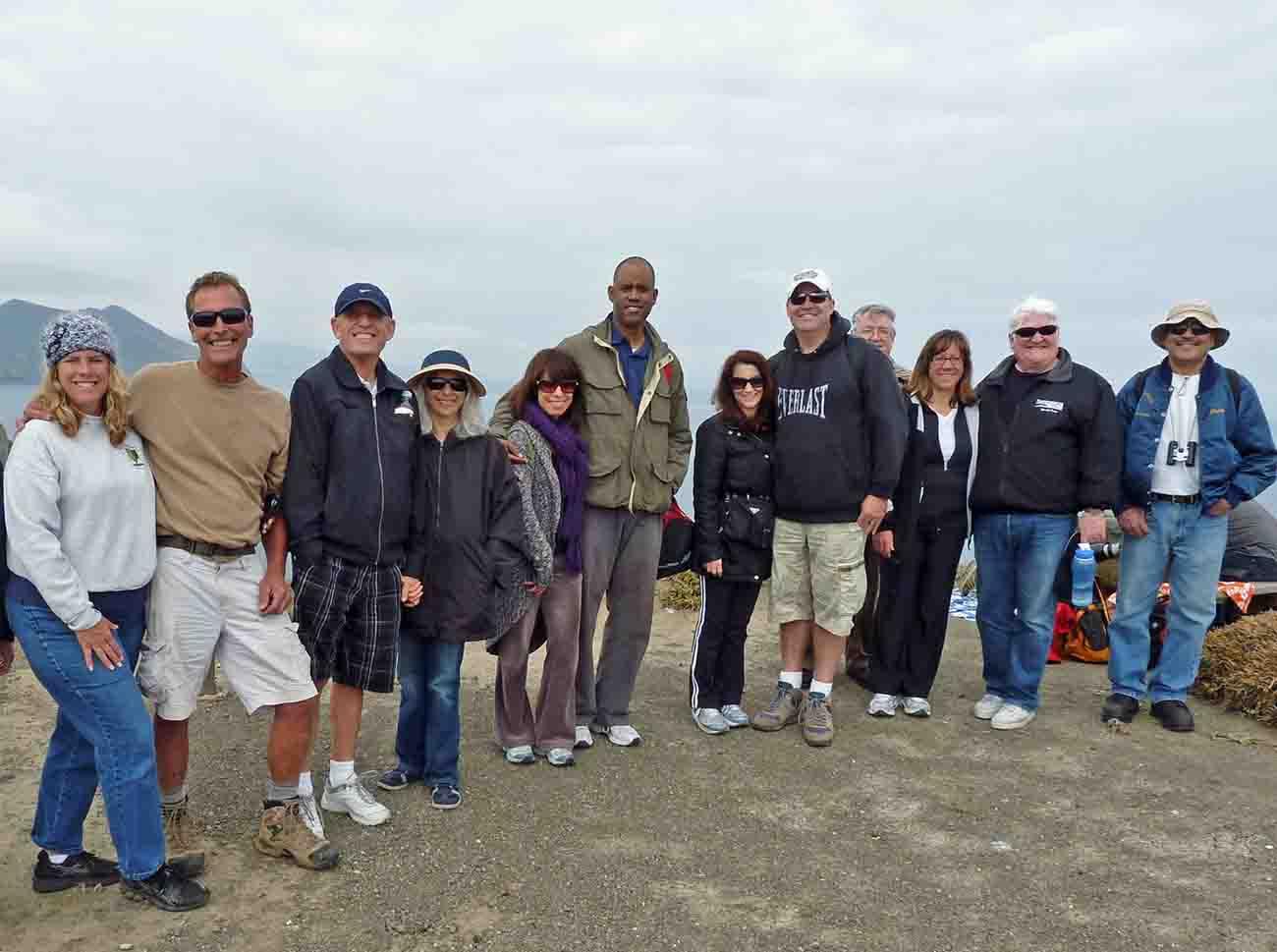 KABC Contest Winners on Anacapa Island