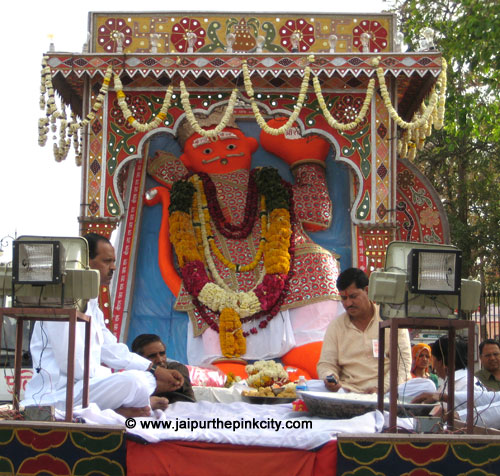 News India Jaipur Hanuman Jayanti Photo
