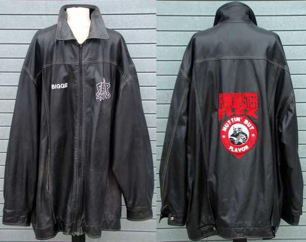 Biggie Smalls leather jacket