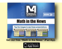 Math in the News iPad App