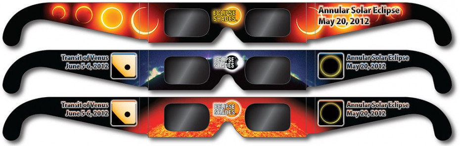 Eclipse Glasses for Annular Eclipse 2012