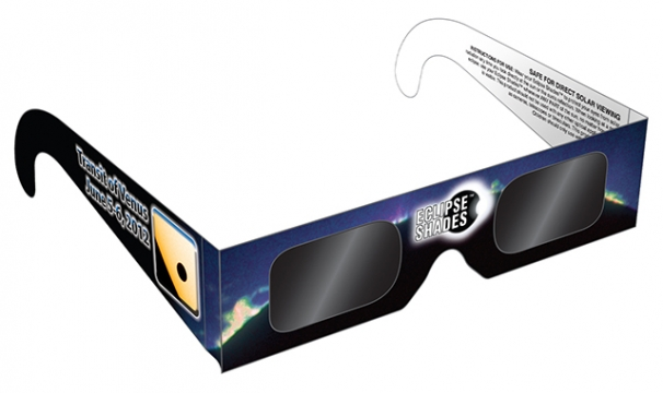 Transit of Venus Eclispe Glasses