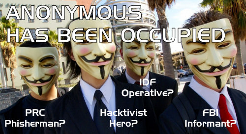 Anonymous Has Been Occupied
