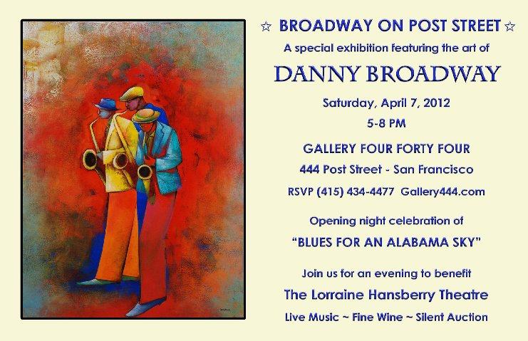 Lorraine Hansberry~ Danny Broadway @ Gallery 444