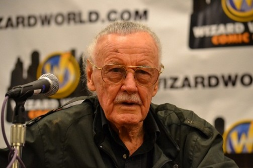 Stan Lee - credit Laurie Lee