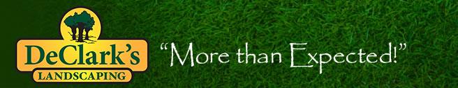 DeClarks landscaping logo