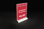 FFR-DSI Aluminum Snap Base Sign Holder