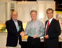 (L to R) Chuck Shinn, Olin Wilson and Charlie Scot