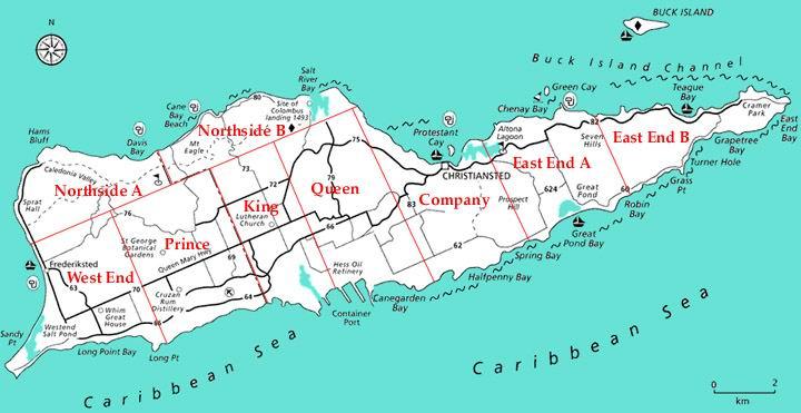 Buck Island Usvi Map
