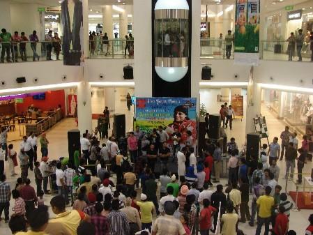 Crowd enjoying the Launch of 'Punjabi Kaada' album