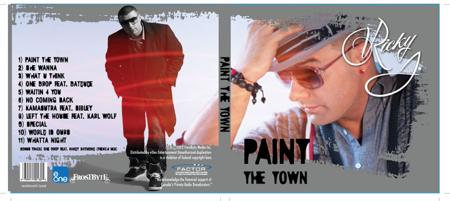 Rick J  Paint the Town